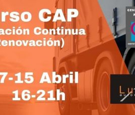 Próximo curso CAP de Formación Continua (renovación)!!!